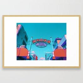 Shinsekai Framed Art Print