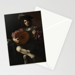 Valentin de Boulogne - The Lute Player Stationery Cards