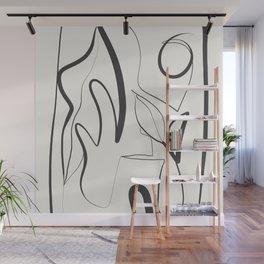 Abstract line art 9 Wall Mural