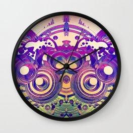 Retro 3D Rings Wall Clock