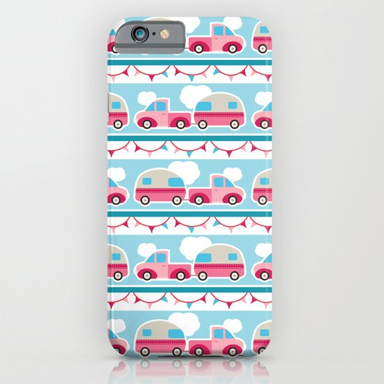 Glamping stripes iPhone & iPod Case