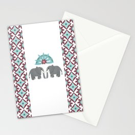 Elephant Honeymoon Stationery Cards