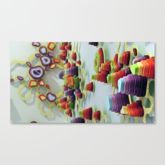 Double Diddle Evisceration Canvas Print
