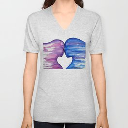 I Love You More Unisex V-Neck