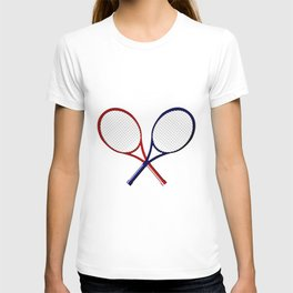Crossed Rackets T-shirt