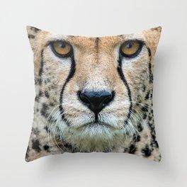 CHEETAH INTENSE Throw Pillow