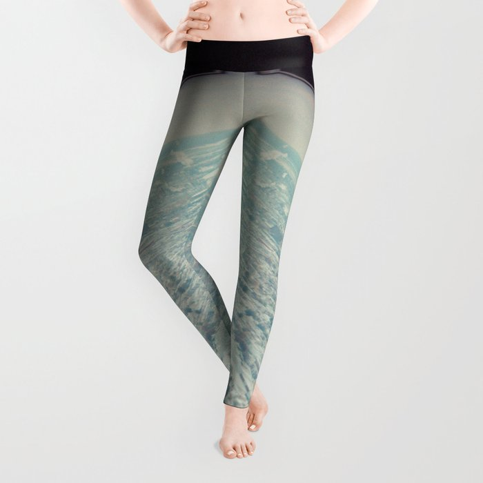 view from the top Leggings