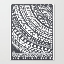 Weaved Canvas Print