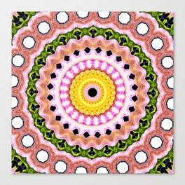Pura Vida Mandala Canvas Print