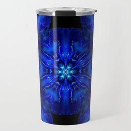christmas blue Travel Mug