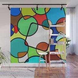Shapes And Shades Wall Mural