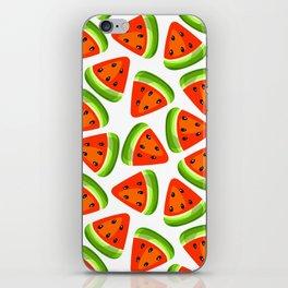 Watermelon seamless pattern iPhone Skin
