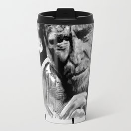 BUKOWSKI quote - FUCK it Travel Mug