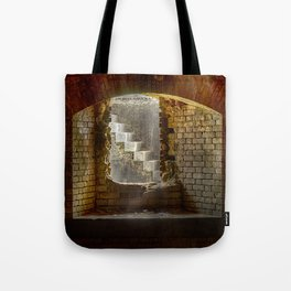 Window to the Stairs - Fort Morgan, AL Tote Bag