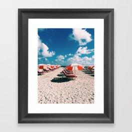 Beach Series Framed Art Print