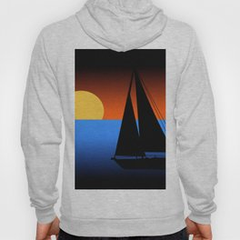 Sailing Into The Sunset Hoody