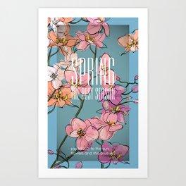 Spring time 2 Art Print