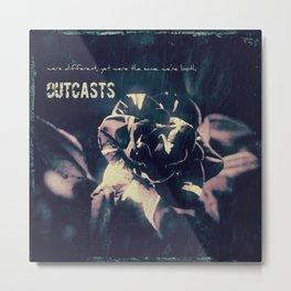 Outcasts Album Cover Metal Print