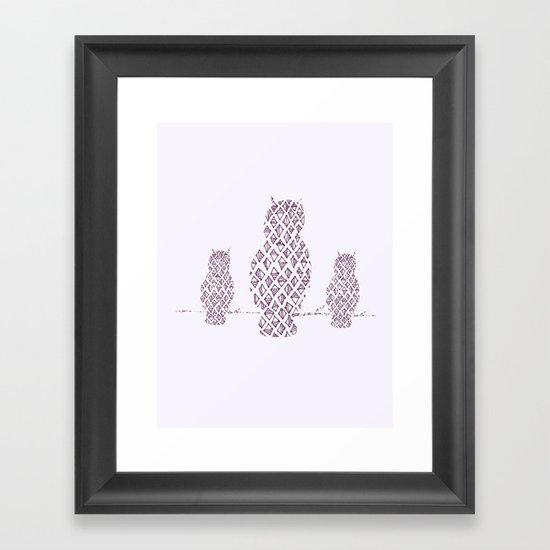 What a Hoot Framed Art Print