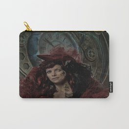 Victorian Steampunk Lady Carry-All Pouch