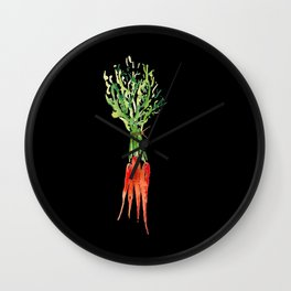 I Stay Rooted Wall Clock