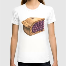 Blueberry Pie Slice T-shirt