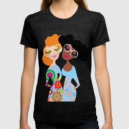 Flower and flower T-shirt