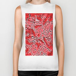 Strawberry Allergy Biker Tank