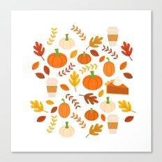 Everything Autumn Canvas Print