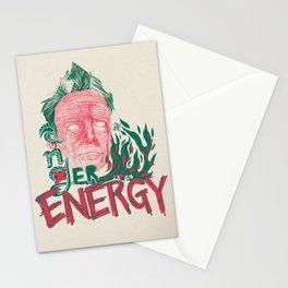 "John Lydon(Johnny Rotten/PiL) ""Anger is an Energy"" - The Punk Loons. Stationery Cards"