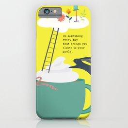 My Goals 3 iPhone Case