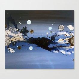 the big blue Canvas Print