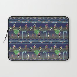 This princess is a triathlete! Laptop Sleeve