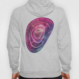 Blue and Pink Mystic Agate Hoody
