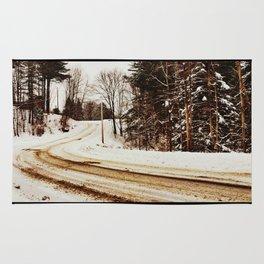 Winding Road (variation) Rug