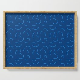 Summer Spheres (Blue) Serving Tray