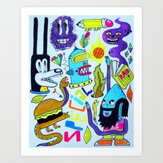 Very Special Things Art Print