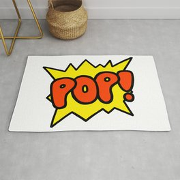 'Pop' Art Sound Explosion Rug