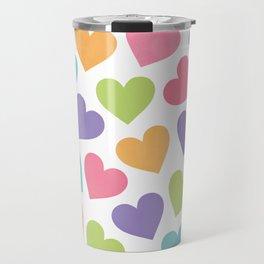 LOVE HEARTS Travel Mug