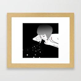 dream addict Framed Art Print