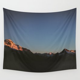 Mountains III Wall Tapestry