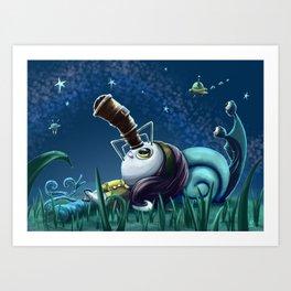 Stargazing Art Print