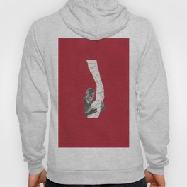 Torn Around — Red Map Hoody