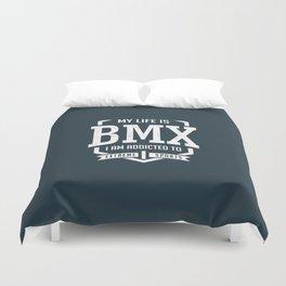 BMX Racing Duvet Cover