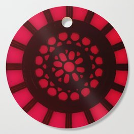 Spin the Wheel Red Cutting Board