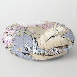 City Artwork Floor Pillow