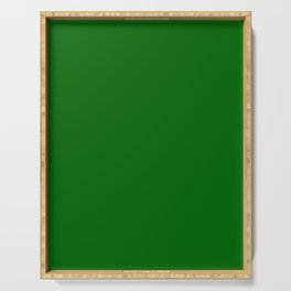 Dark Green Serving Tray