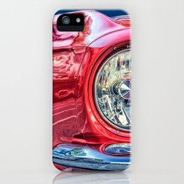 Bright Red Car iPhone Case