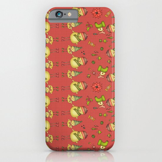 Two Chicks Pattern ~ Red iPhone & iPod Case