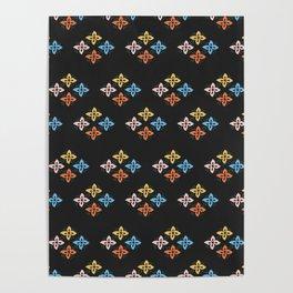 Las Flores 02 (Patterns Please) Poster